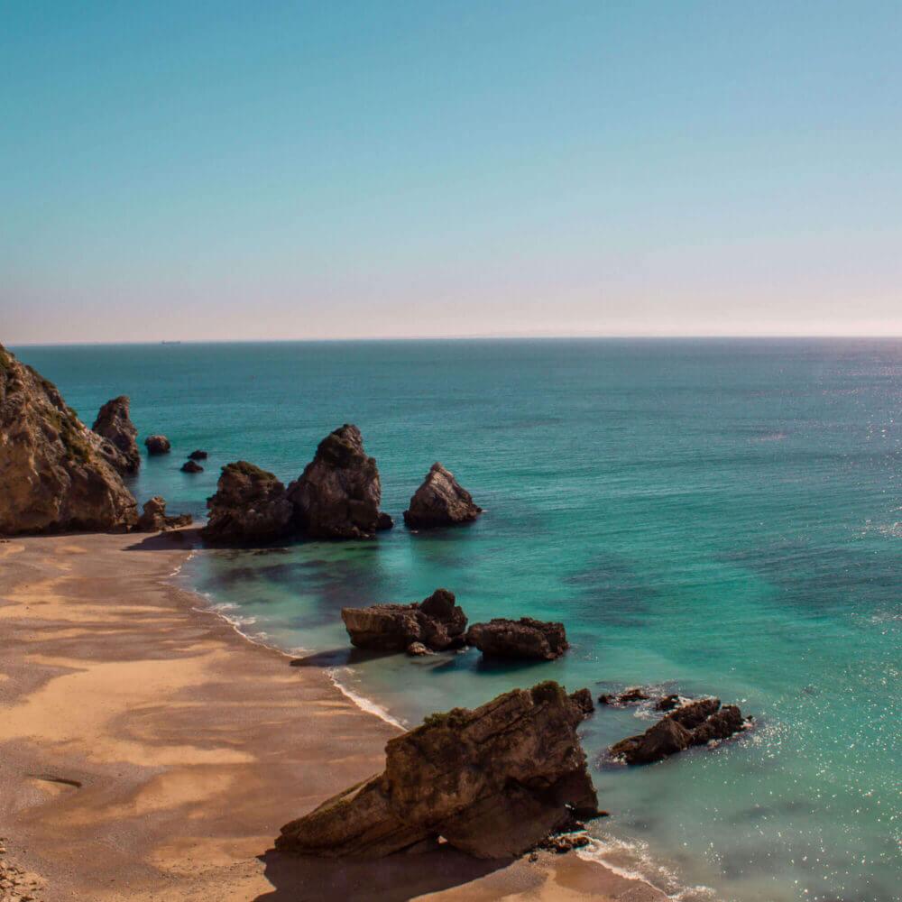 Ribeiro do Cavalo, Paradise beach with crystal clear water