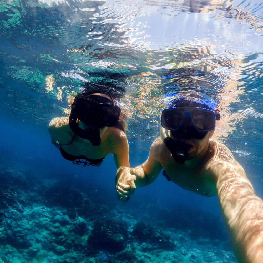 In Sesimbra you can make your first dive in clear waters